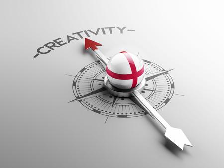 England High Resolution Creativity Concept