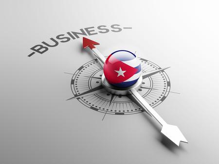 Cuba High Resolution Business Concept
