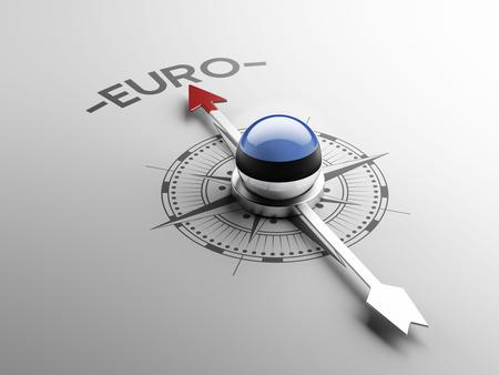 estonian: Estonia High Resolution Euro Concept