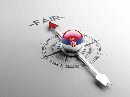 lawful: Serbia High Resolution Fair Concept