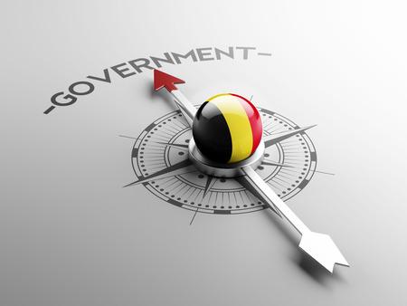 gov: Belgium High Resolution Government Concept Stock Photo