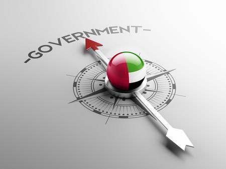 gov: United Arab Emirates  High Resolution Government Concept Stock Photo