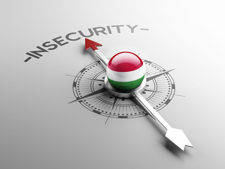 insecurity: Hungary High Resolution Insecurity Concept
