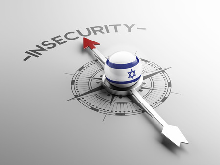 insecurity: Israel High Resolution Insecurity Concept