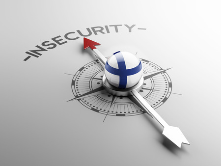 insecurity: Finland High Resolution Insecurity Concept Stock Photo