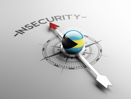 insecurity: Bahamas  High Resolution Insecurity Concept