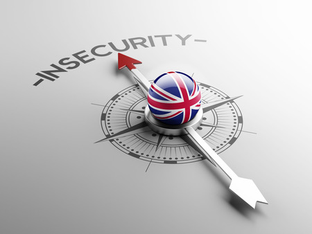 insecurity: United Kingdom High Resolution Insecurity Concept