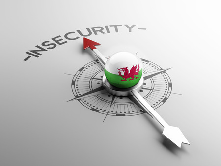 insecurity: Wales High Resolution Insecurity Concept Stock Photo