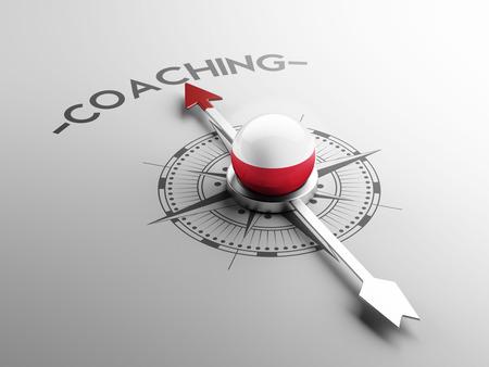 career coach: Poland High Resolution Coaching Concept