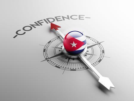Cuba High Resolution Confidence Concept photo