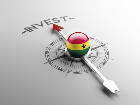 Ghana High Resolution Invest Concept Stock Photo