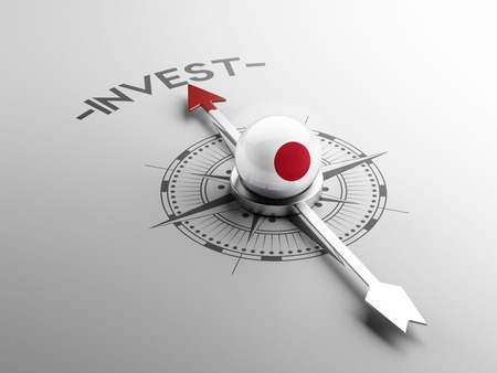 strategist: Japan High Resolution Invest Concept Stock Photo