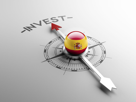 Spain High Resolution Invest Concept Stock Photo