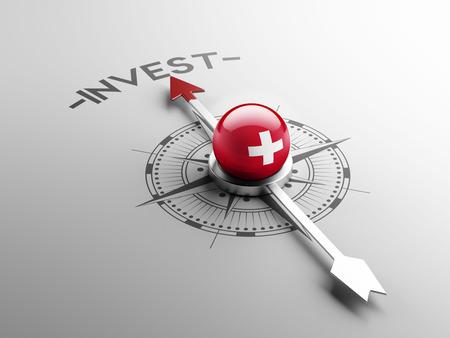 Switzerland High Resolution Invest Concept