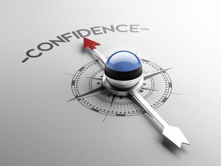 Estonia High Resolution Confidence Concept