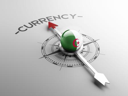 algerian flag: Algeria High Resolution Currency Concept