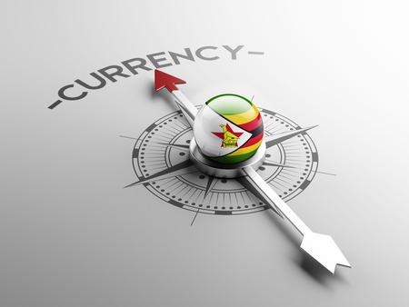 zimbabwe: Zimbabwe High Resolution Currency Concept