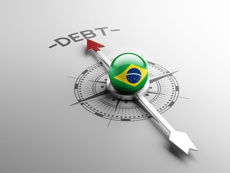 Brasil alta resoluci�n Concepto de Deuda photo