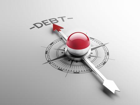sumatra: Indonesia High Resolution Debt Concept