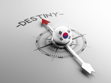 inevitability: South Korea High Resolution Compass Concept