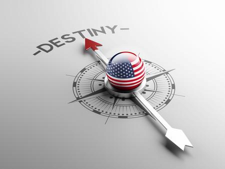 destin: Etats-Unis R�solution destin Haute Concept