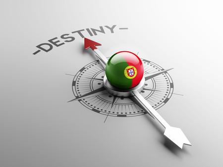 destin: Portugal Haute D�finition destin Concept Banque d'images