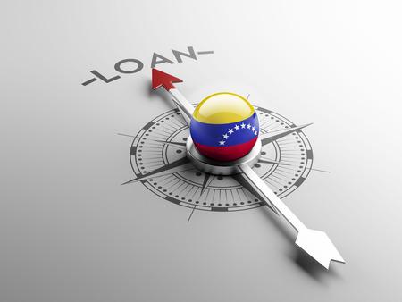 Venezuela High Resolution Loan Concept photo