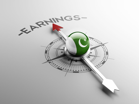 earnings: Pakistan High Resolution Earnings Concept Stock Photo