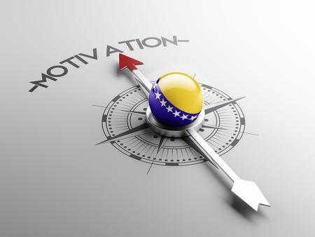 herzegovina: Bosnia and Herzegovina  High Resolution Motivation Concept