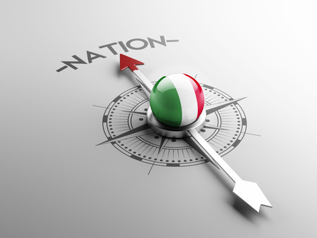 nation: Italy High Resolution Nation Concept Stock Photo