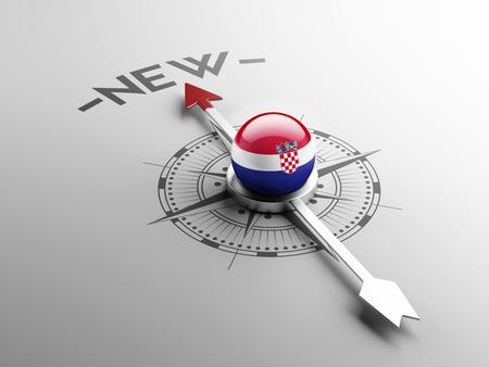 renewed: Croatia  High Resolution New Concept