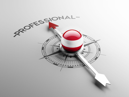 qualified: Austria High Resolution Professional Concept