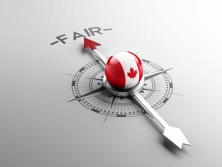 lawful: Canada High Resolution Fair Concept