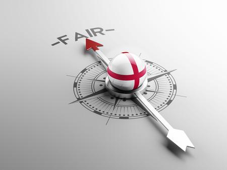 equitable: England High Resolution Fair Concept