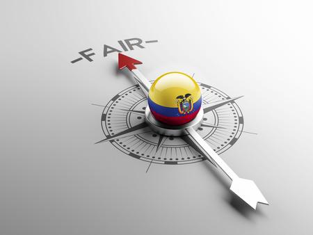 lawful: Ecuador High Resolution Compass Concept