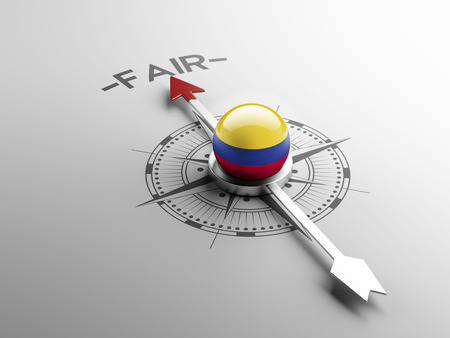 lawful: Colombia High Resolution Fair Concept