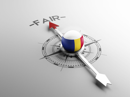 lawful: Romania High Resolution Fair Concept
