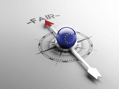 equitable: European Union High Resolution Fair Concept
