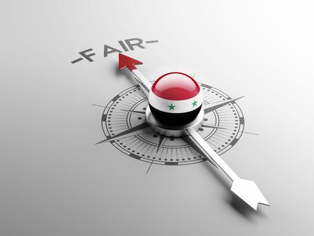 equitable: Syria High Resolution Fair Concept