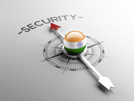 India High Resolution Security Concept photo