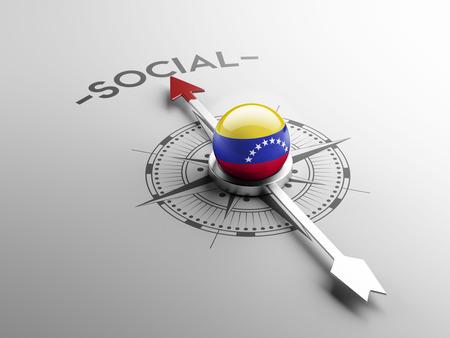societal: Venezuela High Resolution Social Concept