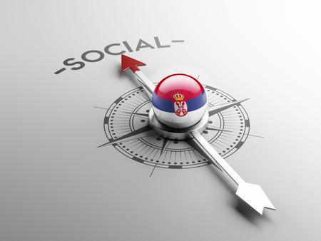 convivial: Serbia High Resolution Social Concept Stock Photo