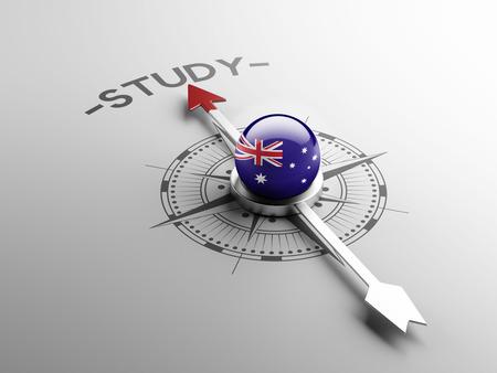 Australie Concept étude à haute résolution Banque d'images