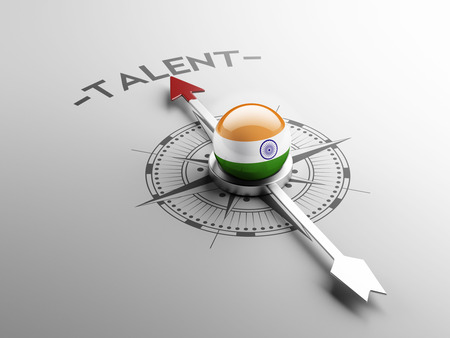 indian professional: India High Resolution Talent Concept Stock Photo