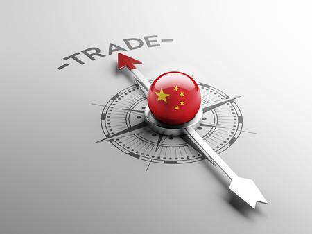 中国の高解像度の貿易の概念 写真素材