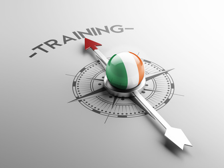 practical: Ireland High Resolution Training Concept Stock Photo