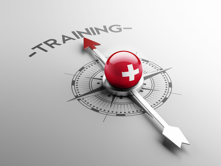 practical: Switzerland High Resolution Training Concept Stock Photo