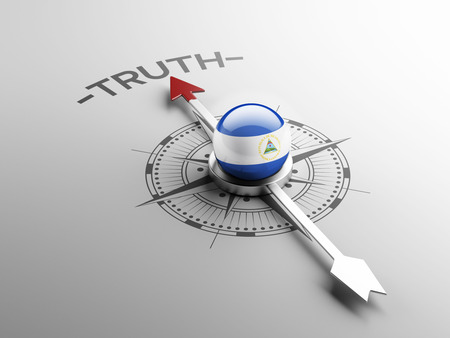 the truth: Nicaragua High Resolution Truth Concept Stock Photo
