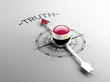 the truth: Egypt High Resolution Truth Concept