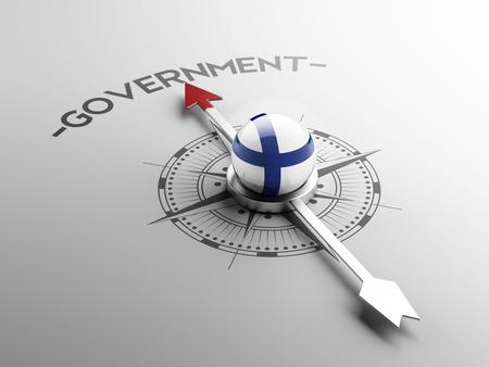 フィンランドの高解像度の政府の概念